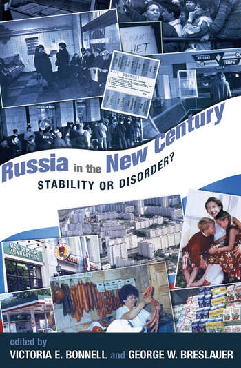 Russia In The New Century Stability Or Disorder? book cover