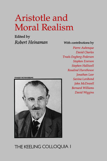 Aristotle And Moral Realism book cover