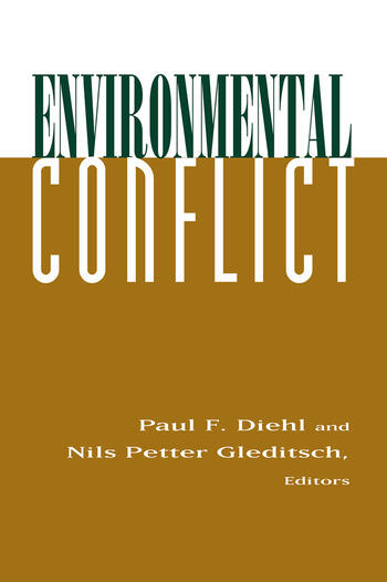 Environmental Conflict An Anthology book cover