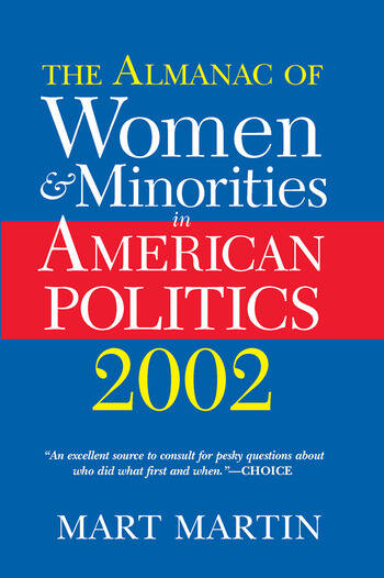 The Almanac Of Women And Minorities In American Politics 2002 book cover
