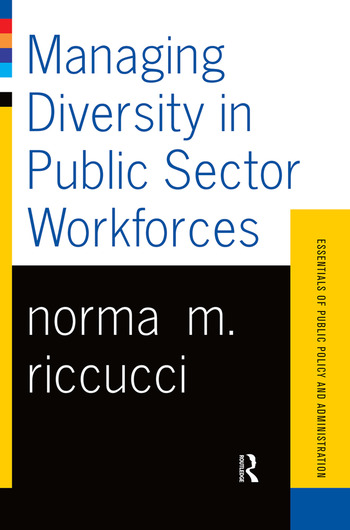 Managing Diversity In Public Sector Workforces book cover