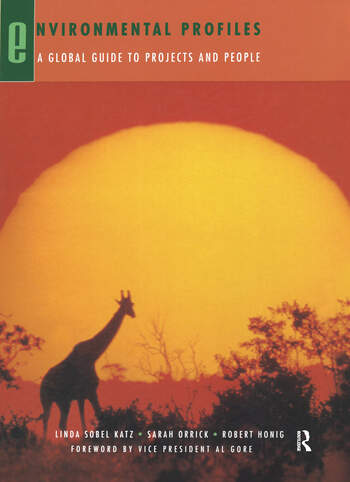 Environmental Profiles A Global Guide to Projects and People book cover