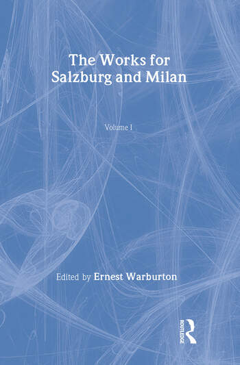 The Works for Salzburg & Milan book cover