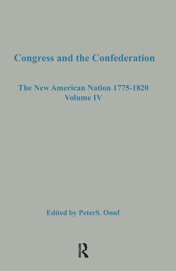 Congress & the Confederation book cover