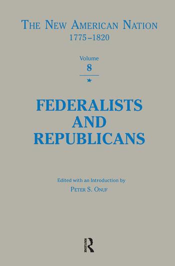 Federalists & Republicans book cover