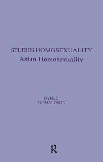 Asian Homosexuality book cover