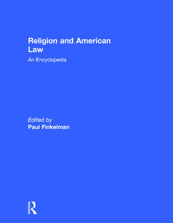 Religion and American Law An Encyclopedia book cover