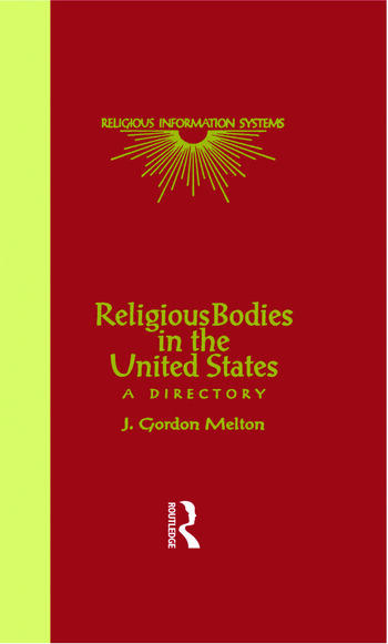 Religious Bodies in the U.S. A Dictionary book cover