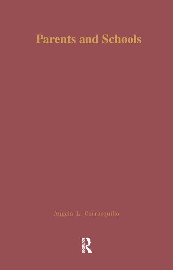 Parents and Schools A Source Book book cover