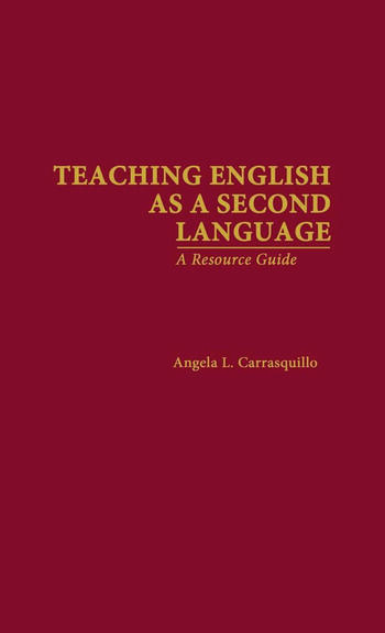 Teaching English as a Second Language A Resource Guide book cover