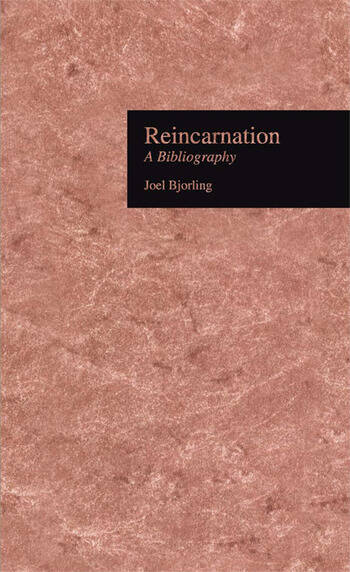 Reincarnation A Bibliography book cover