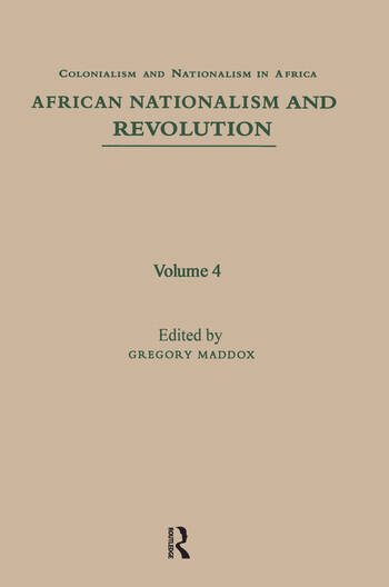 African Nationalism and Revolution book cover