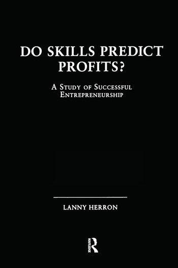 Do Skills Predict Profits A Study of Successful Entrepreneurship book cover