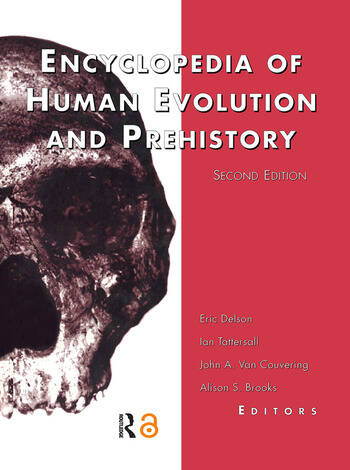 Encyclopedia of Human Evolution and Prehistory Second Edition book cover
