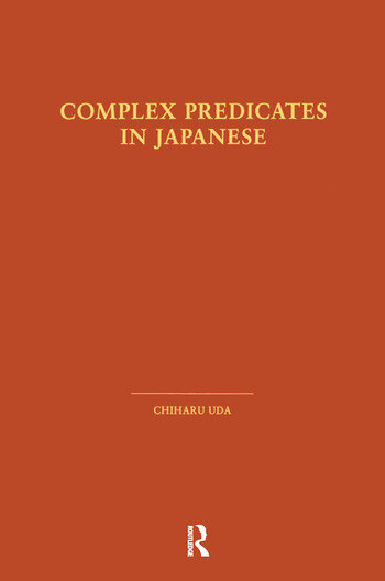 Complex Predicates in Japanese book cover