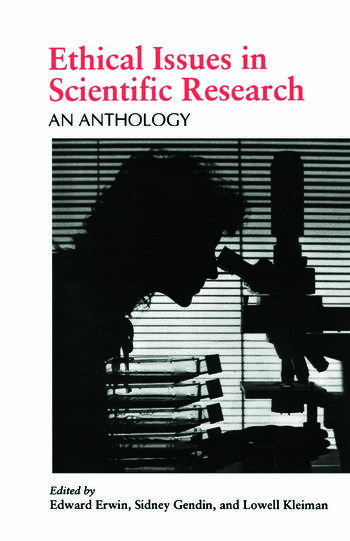 Ethical Issues in Scientific Research An Anthology book cover