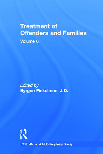 Treatment of Offenders and Families book cover