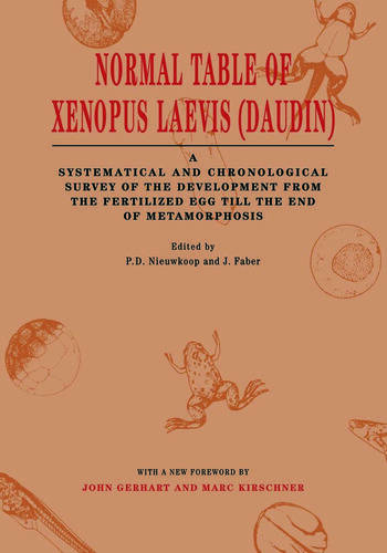 Normal Table of Xenopus Laevis (Daudin) A Systematical & Chronological Survey of the Development from the Fertilized Egg till the End of Metamorphosis book cover