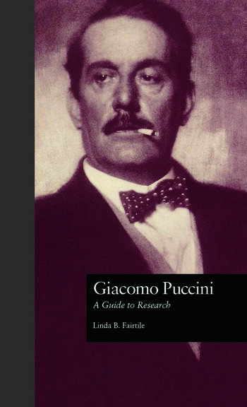 Giacomo Puccini A Guide to Research book cover