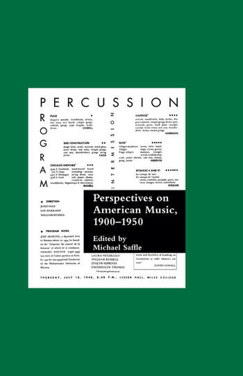 Perspectives on American Music, 1900-1950 book cover