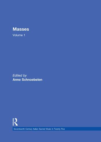 Masses by Gasparo Villani, Alessandro Grandi, Pietro Lappi, and Benivoglio Lev book cover