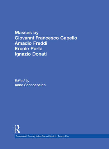 Masses by Giovanni Francesco Capello, Bentivoglio Lev, and Ercole Porta book cover