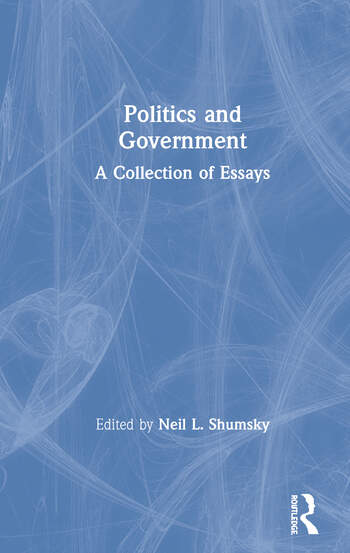 Politics and Government A Collection of Essays book cover