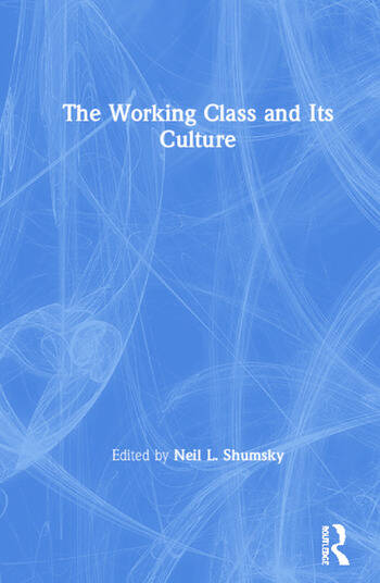 The Working Class and Its Culture book cover