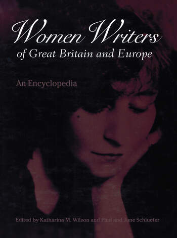Women Writers of Great Britain and Europe An Encyclopedia book cover