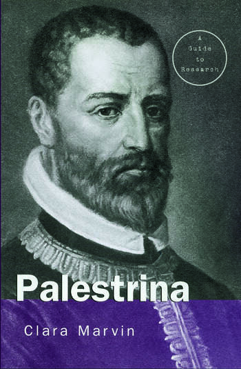 Giovanni Pierluigi da Palestrina A Research Guide book cover