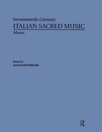Masses by Giovanni Rovetta, Ortensio Polidori, Giovanni Battista Chinelli, Orazio Tarditi book cover