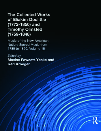 Eliakim Doolittle (1772-1850) and Timothy Olmsted (1759-1848) The Collected Works book cover