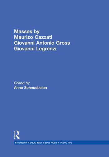 Masses by Maurizio Cazzati, Giovanni Antonio Grossi, Giovanni Legrenzi book cover