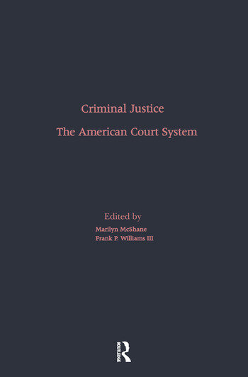 The American Court System book cover