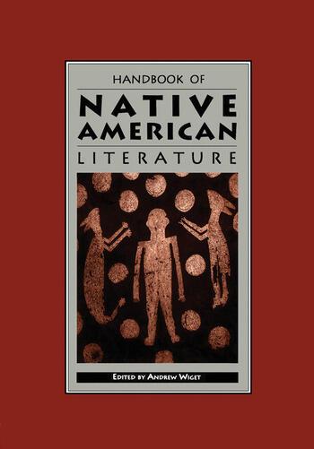 Handbook of Native American Literature book cover