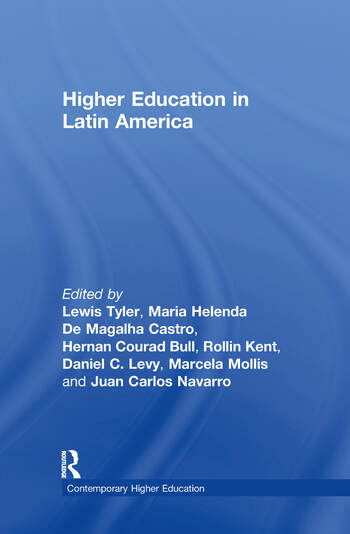 Higher Education in Latin American book cover