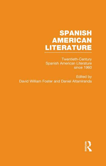 Twentieth-Century Spanish American Literature since 1960 book cover