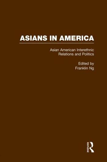 Asian American Interethnic Relations and Politics book cover