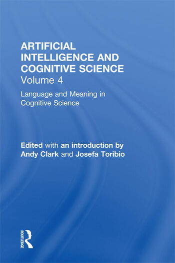 Language and Meaning in Cognitive Science Cognitive Issues and Semantic theory book cover