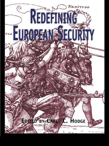 Redefining European Security book cover