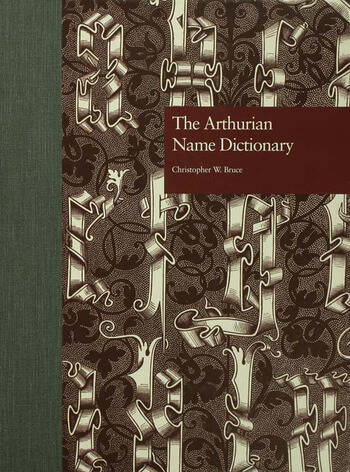The Arthurian Name Dictionary book cover