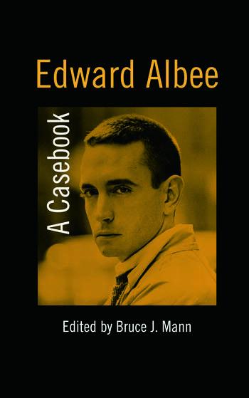 Edward Albee A Casebook book cover