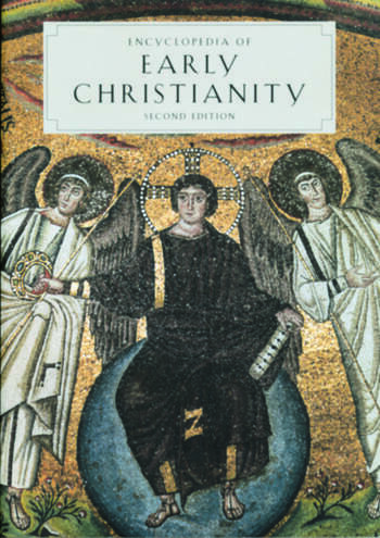 Encyclopedia of Early Christianity Second Edition book cover