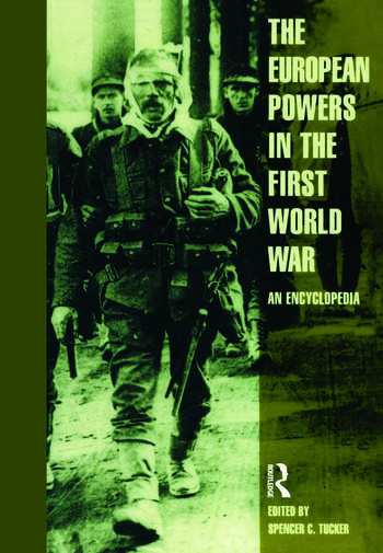 European Powers in the First World War An Encyclopedia book cover