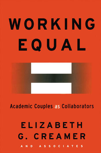 Working Equal Collaboration Among Academic Couples book cover