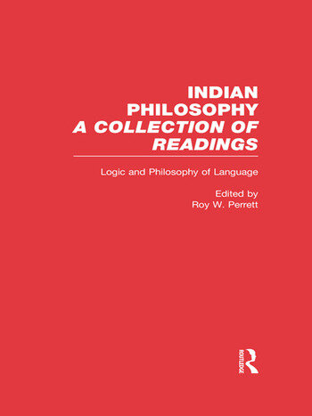 Logic and Language Indian Philosophy book cover