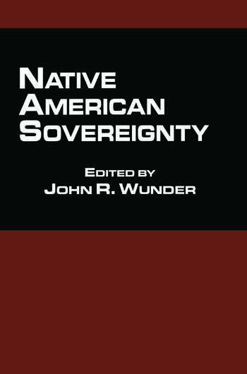 Native American Sovereignty book cover