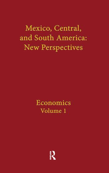 Economics Mexico, Central, and South America book cover