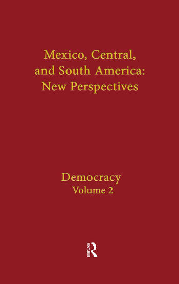 Democracy Mexico, Central, and South America book cover