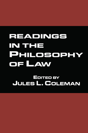 Readings in the Philosophy of Law book cover